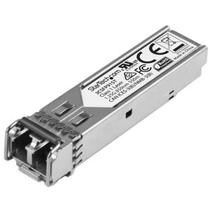 Add reliable and cost-effective Gigabit Ethernet connections over multimode fiber with this SFP module
