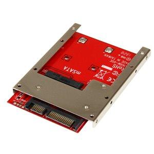 """Permette di convertire un SSD mSATA in un SSD a giorno da 6 Gbps SATA 2,5"""" da 7 mm"""