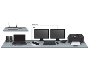 Turn A Laptop Into A Multi-Monitor Workstation For Increased Productivity