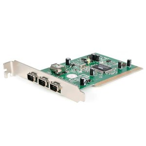 Add 3 external and 1 shared internal FireWire400 ports through a PCI slot