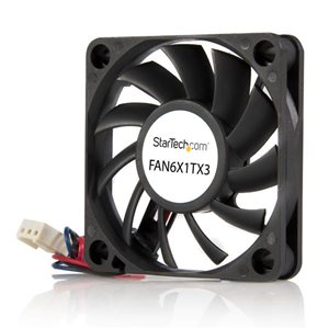 Add additional chassis cooling with a 60mm ball bearing fan