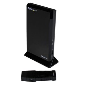 Wirelessly extend an HDMI signal up to 50ft, with a compact transmitter ideal for laptops/ultrabooks