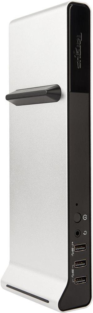 Targus Thunderbolt 2 4K Universal Docking Station, Single 4K or Dual 2K Video (DOCK210USZ)