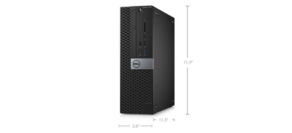 Dell OptiPlex 3000 Series Desktop (3040): Big security. Small footprint.