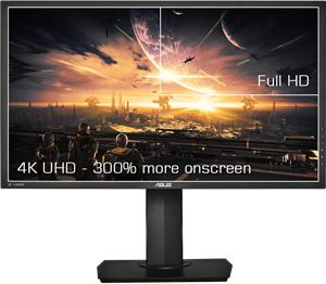 Ein 71,1cm (28) 4K/UHD-Monitor für eine detaillierte Darstellung und mehr Platz auf dem Bildschirm