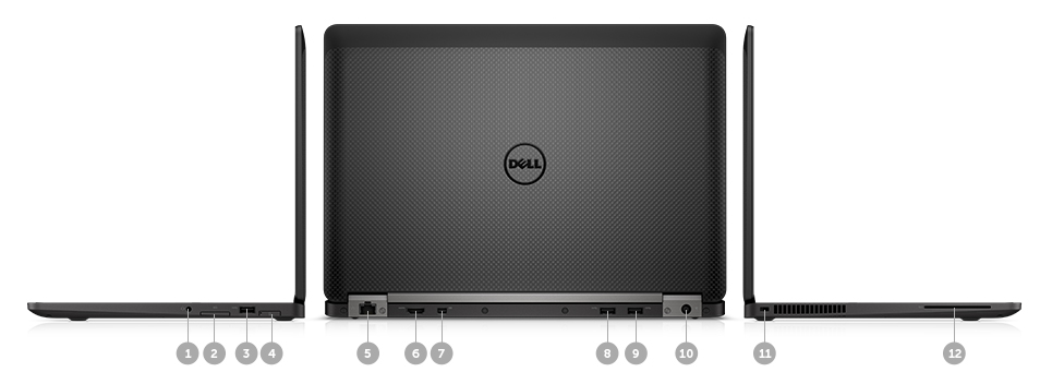 Dell Latitude 12 E7270: Where work happens.
