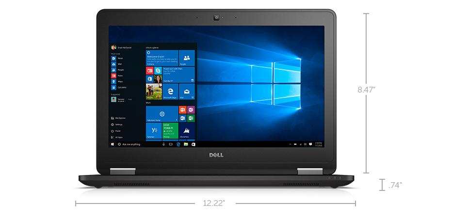 Dell Latitude 12 E7270: Where work happens.