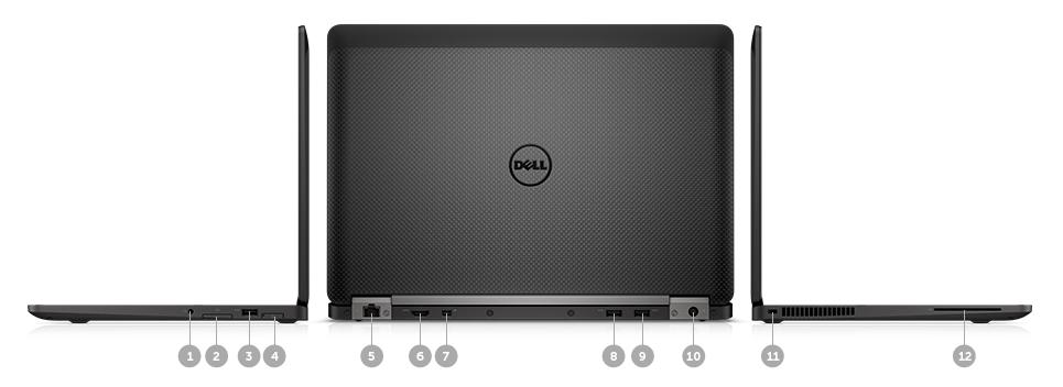 a6828021c1eb Dell Latitude E7470 Core i7-6600U 8GB 256GB SSD 14 Inch Windows 7  Professional Laptop