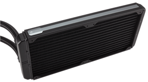 280mm dual-fan radiator
