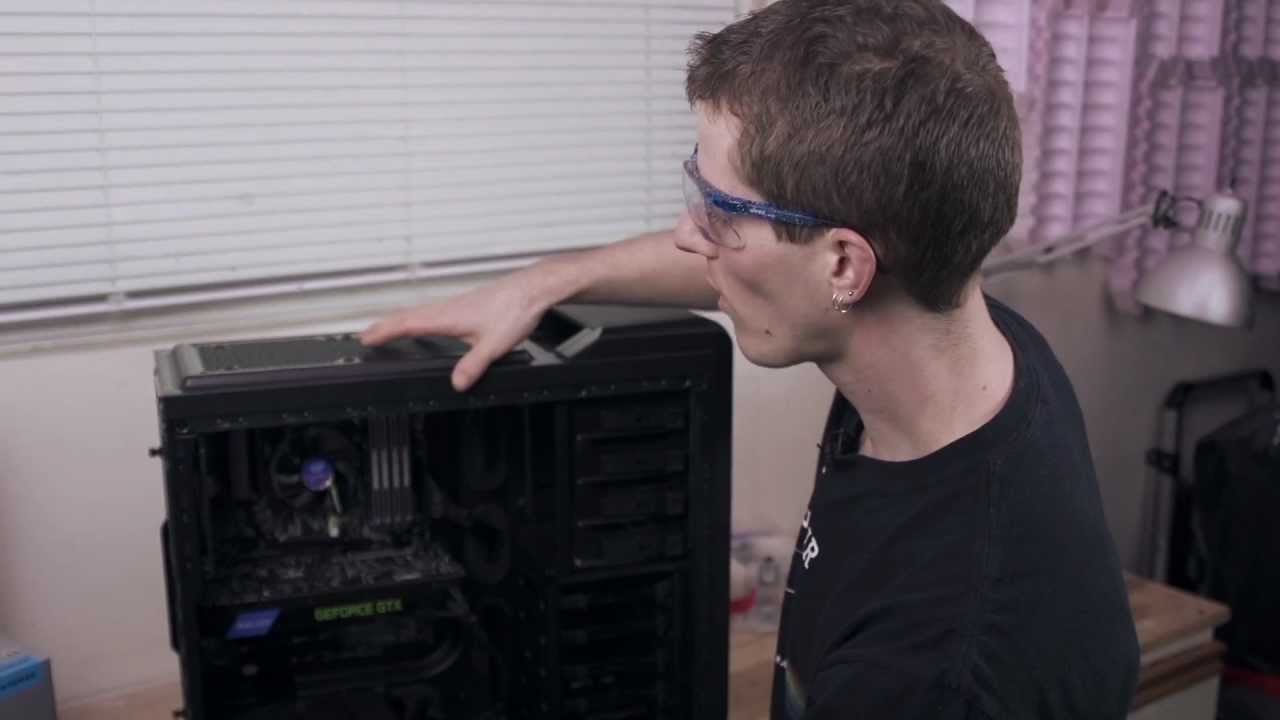 slide 1 of 7,show larger image, linus tech quickie: installing the hydro series h90 140mm high-performance liquid cpu cooler