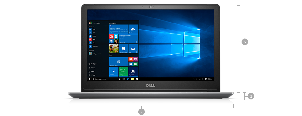 Dell Vostro 15 5568: Thin. Light. Business-ready.