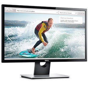 Dell 24 Monitor SE2416H: Smart design meets essential computing.