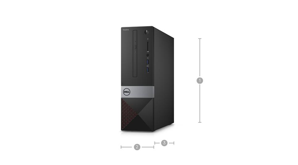 Dell Vostro 3268 Sff Desktop Pc Intel Core I3 7100 3 9 Ghz