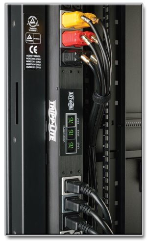 Built-In Digital Meters Provide Visual Monitoring of 3-Phase Power Distribution