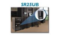 25U Rack Enclosure Server Cabinet wIth Doors & Sides 3000lb Load Capacity