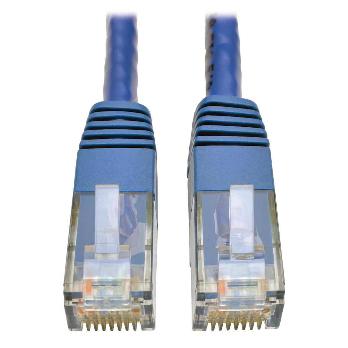 Product | Tripp Lite Cat6 Gigabit Molded Patch Cable RJ45 M/M 550MHz ...