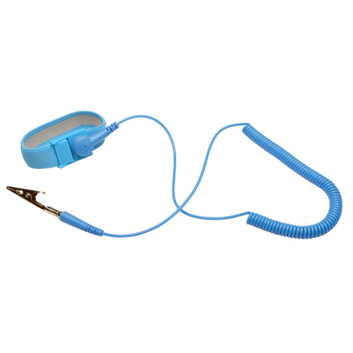 Sensitive Electronics Working and Grounding Cable Electrostatic Discharge Protection Anti-Static Wrist Band Set for Phone Repair Anti-Static Wrist Strap with Anti Static Mat Alligator Clip
