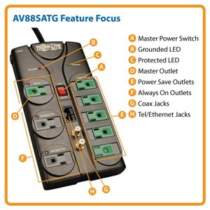 Save Up to $35 Per Year with This Green A/V Surge Protector