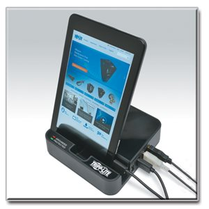 Exceptional Charging Convenience and Surge Protection in a Compact Dock Station