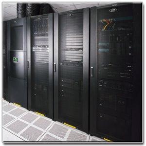 Adjustable 42U SmartRack Enclosure Cabinet with Doors and Side Panels