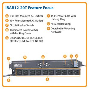 Rugged, Reliable, Rack-Mountable Isobar Surge Suppression with a Twist Lock Plug