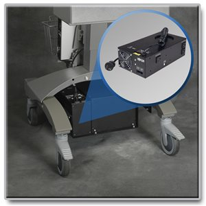 Add Reliable AC Power to Medical Carts and Save Money