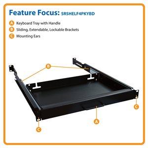 SmartRack® Keyboard Shelf