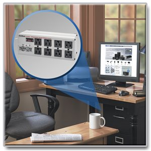 tripp lite isobar premium surge suppressor 8 outlet 12 cord by office depot officemax. Black Bedroom Furniture Sets. Home Design Ideas