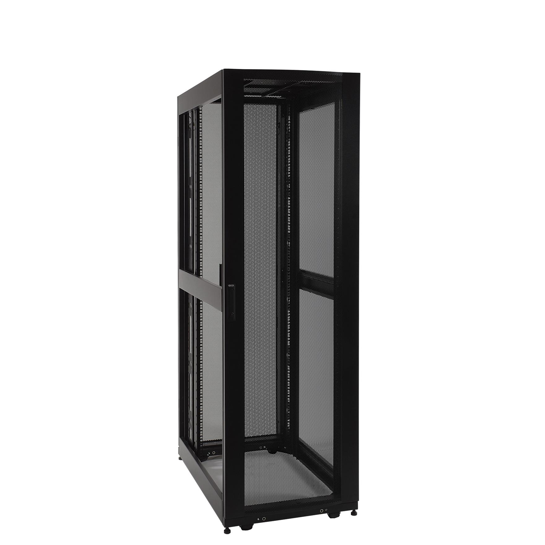 product | tripp lite 42u rack enclosure server cabinet doors no