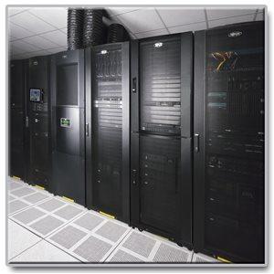 42U Premium Dual-Compartment Colocation Rack Enclosure Server Cabinet
