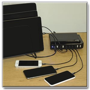 Charges Up to 10 Devices Simultaneously