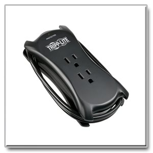 Protect your Notebook with a Compact, Portable Surge Protector