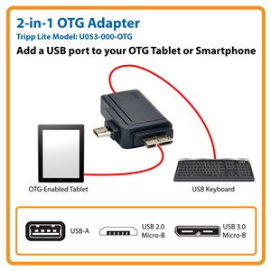 Add a USB Peripheral to Your On-the-Go (OTG) Tablet or Smartphone