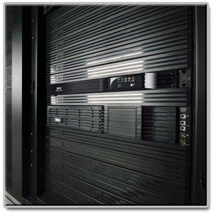 NAFTA-Assembled, 500VA/300W Line-Interactive 1U UPS System for Data Center/Network Rackmount Equipment