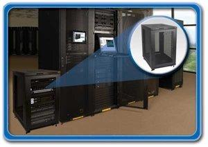 Tripp Lite's 18U Mid-Depth Rack Enclosure Cabinet