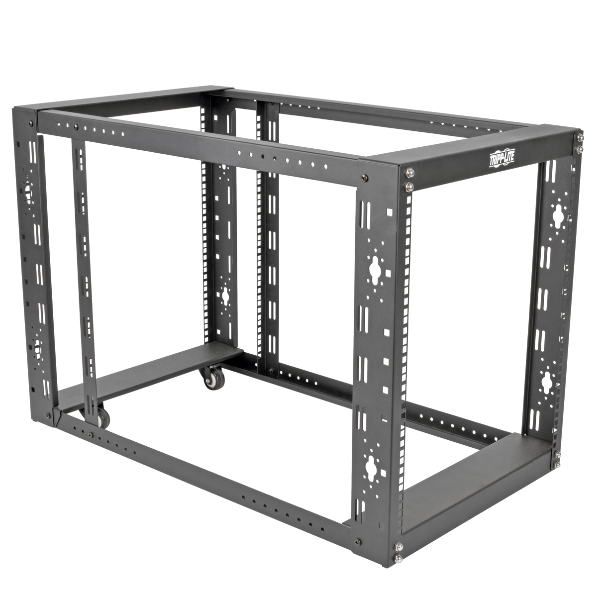 Tripp Lite SmartRack 12U 4-Post Floor-standing Open Frame Rack ...