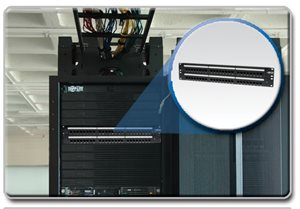 Easily Patch Cables for Improved Performance and Efficiency with This 48-Port Cat6 Patch Panel