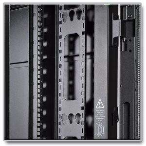 42U Vertical Cable Management Bars