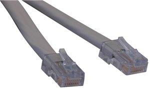 10 ft. T1 Shielded RJ48C Patch Cable, RJ45 M to RJ45 M (Beige)