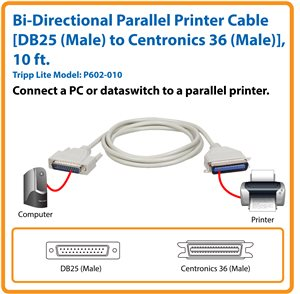 Connect Your PC or Dataswitch to a Parallel Printer
