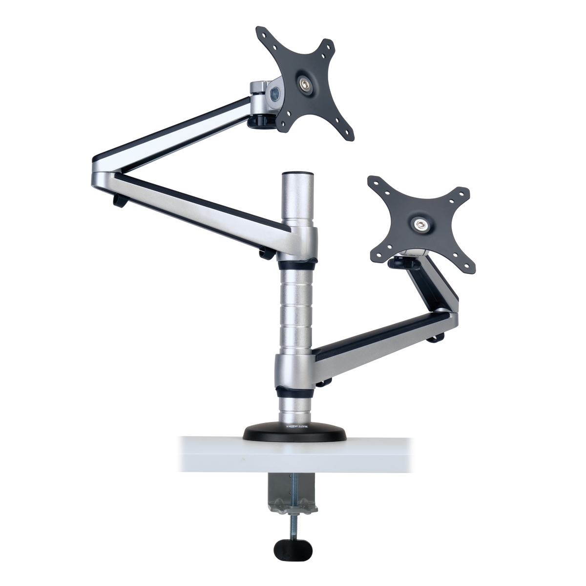 Tripp Lite Dual Display Desk Mount Monitor Arm Swivel to 27