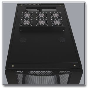 230V 3U Fan Optimizes SmartRack® Enclosure Cabinet Cooling Efficiency