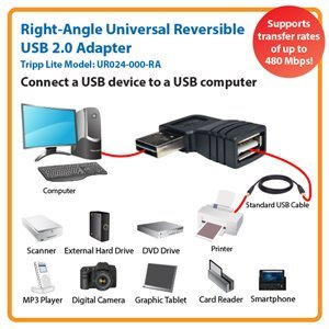 Universal Reversible USB 2.0 Hi-Speed Adapter for Maximum Performance