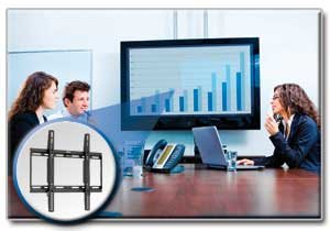 "Display TV LCD Wall Mount Fixed 26"" - 55"" Flat Screen / Panel"