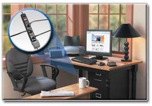 Protection for All Electronics with 7 Outlets, a Lifetime Warranty & $50,000 Insurance