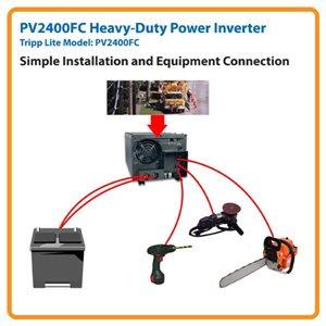 Industrial-Strength 2400 Watt Power Inverter