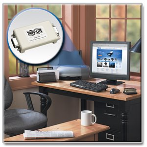 In-Line Serial Port (DB-9) Surge Protector Protects Against Dataline Surges