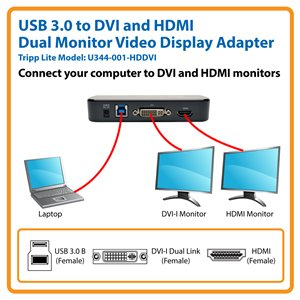 Connect Multiple DVI and HDMI Displays to a Single Computer