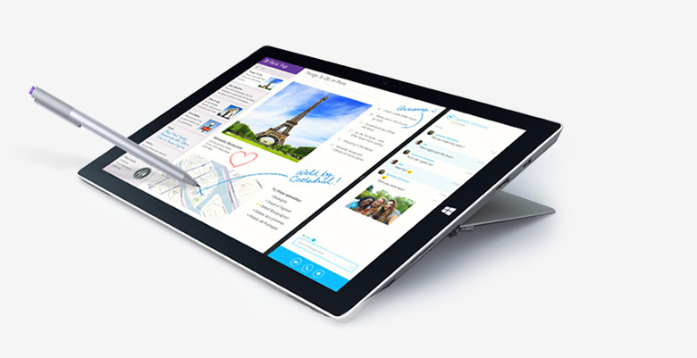 NEW DRIVERS: MICROSOFT SURFACE PRO 3 TABLET