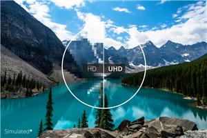 Stunning 4K Ultra HD Resolution